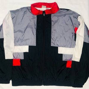 VTG Colorblock Windbreaker Jacket